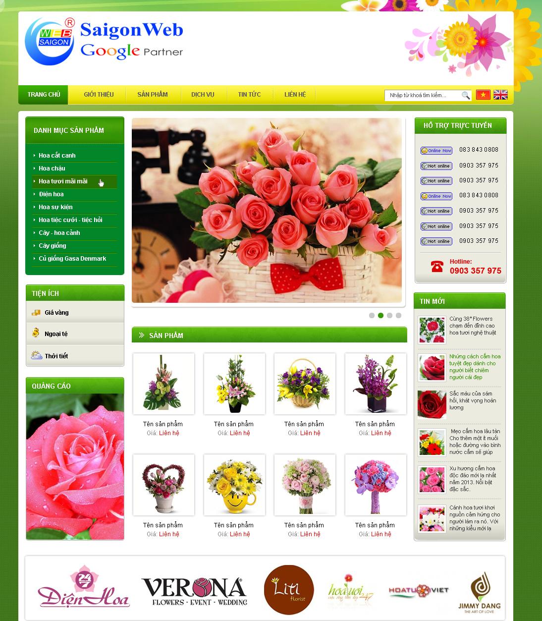website bán hàng7