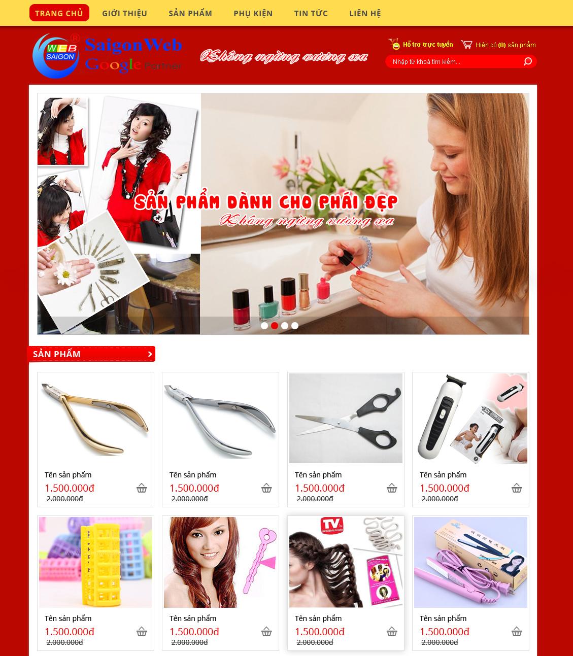 website bán hàng9