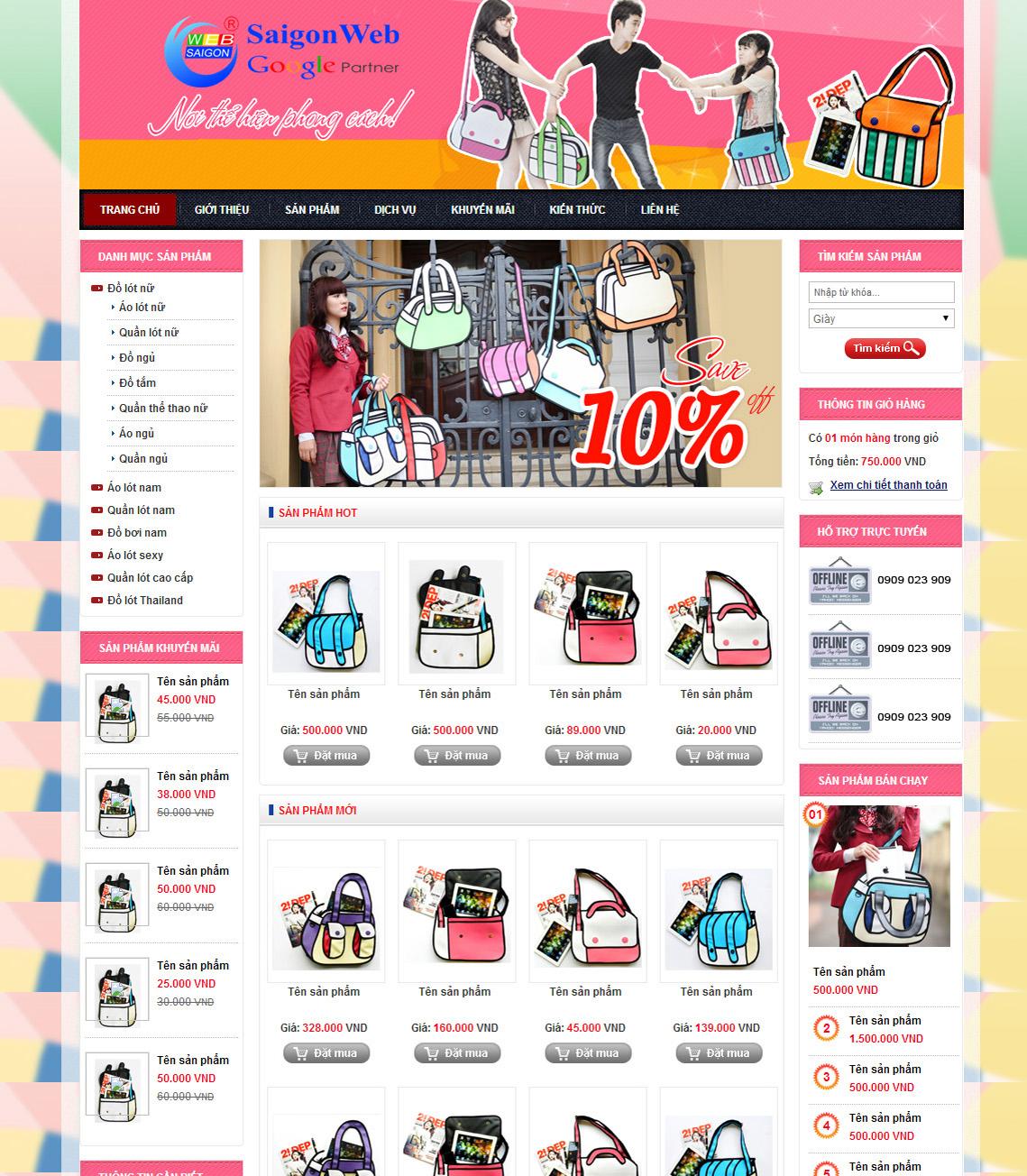 website thời trang21