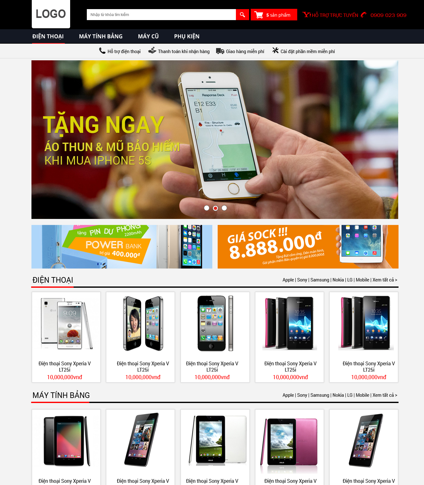 website bán hàng31